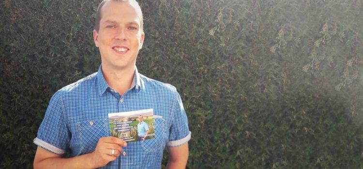 Bürgermeisterkandidat Andreas Wicklein verteilt Sommergrüße