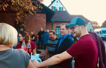 """""""Auf ein Getränk"""" mit Bürgermeisterkandidat Andreas Wicklein"""